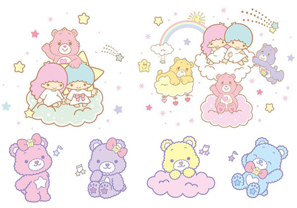 Little Twin Stars x Care Bears