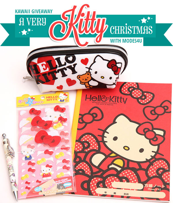 A Very Kitty Christmas Kawaii Giveaway