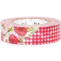 Flowers & gingham washi tape at Modes4U