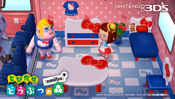Hello Kitty Animal Crossing