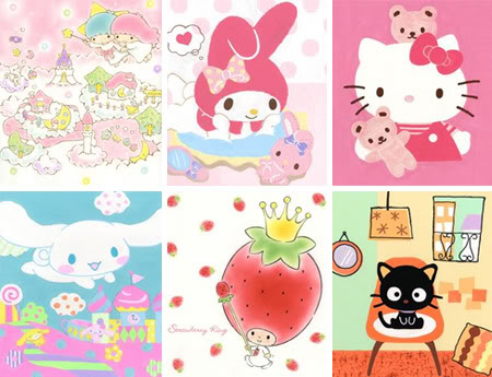 Sanrio Character Illustration Exhibition - (c)Sanrio.co