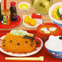 Hello Kitty Retro Dinner