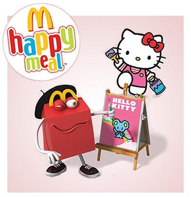 Hello Kitty torna al McDonald's