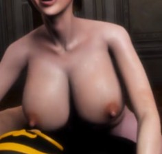 3D Big Tits Whore pussy gets filled up