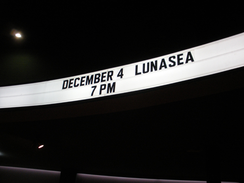 Luna Sea at the Palladium