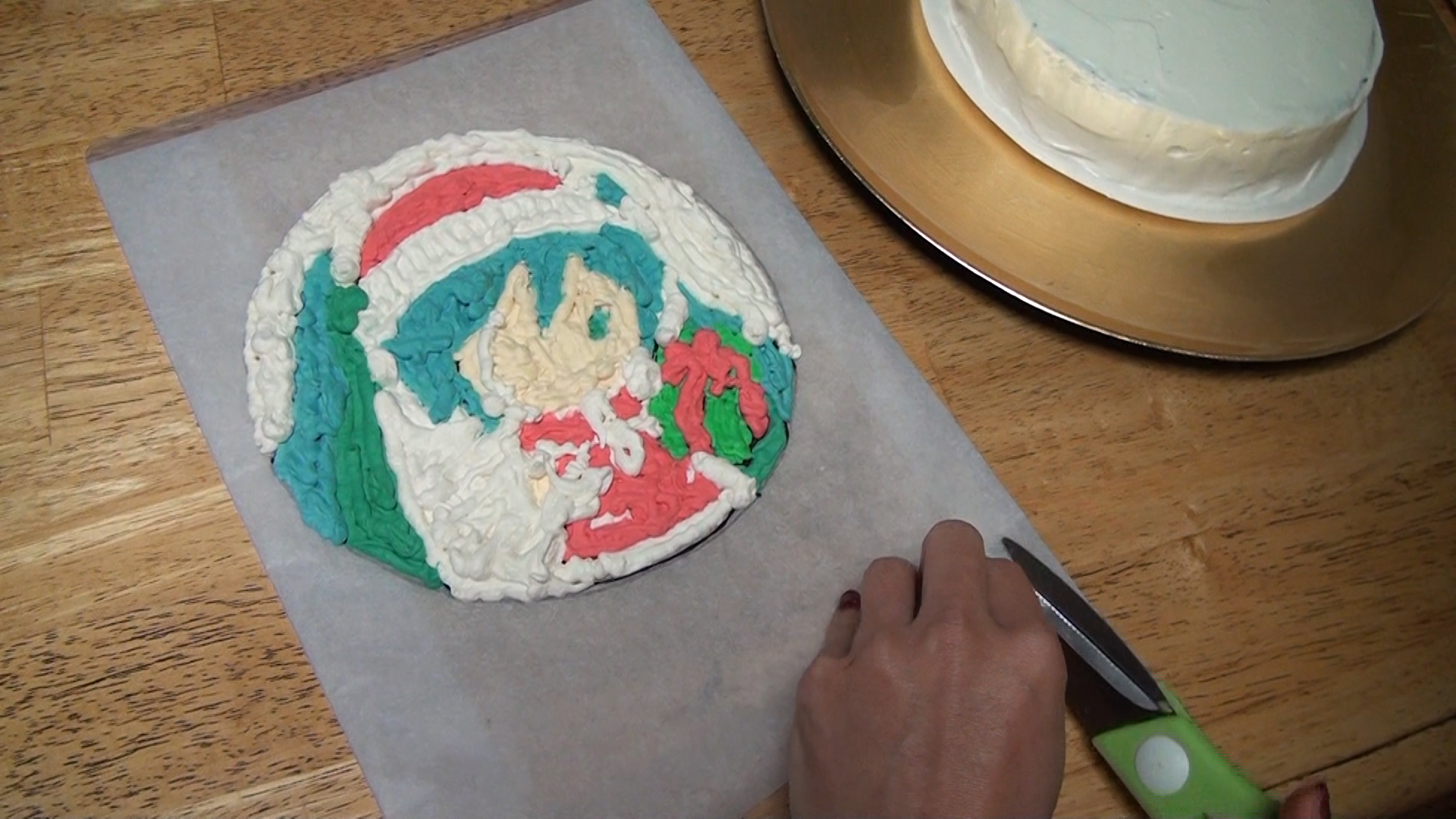 Hatsune Miku Christmas Cake Recipe