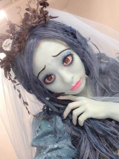 Kyary as Corpse Bride for Last Year's Halloween