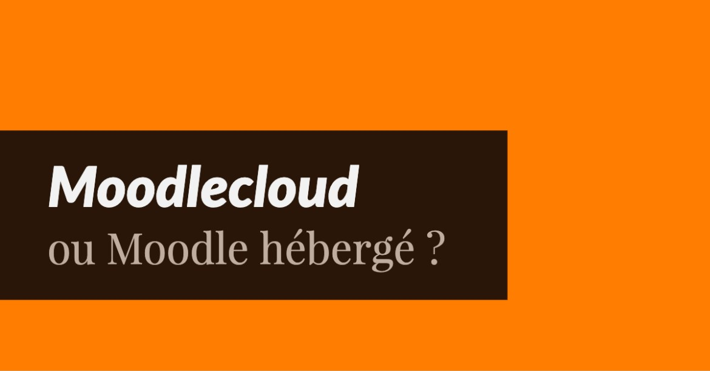 Moodlecloud ou Moodle