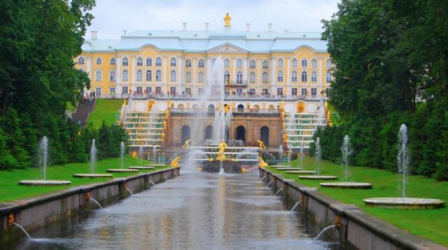 Palácio Peterhof Rússia