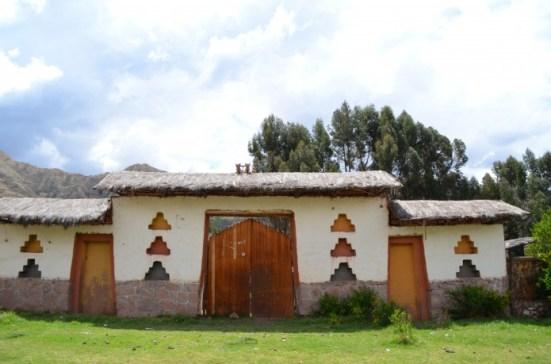 Casas no caminho para Pisac