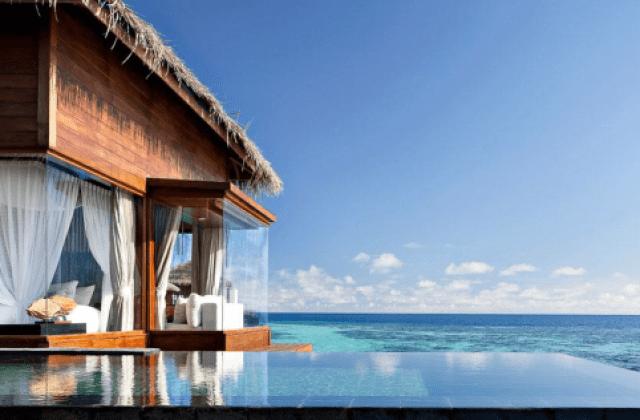 Resrot de luxo Jumeirah Dhevanafushi Maldivas