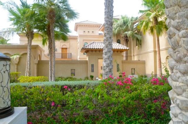 Jardim de Hotel de luxo em Dubai