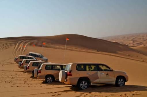 Passeios turísticos pelo deserto de Dubai