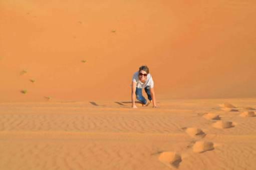 Passeio turístico pelo deserto de Dubai