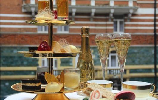 Casa de Chá em Londres