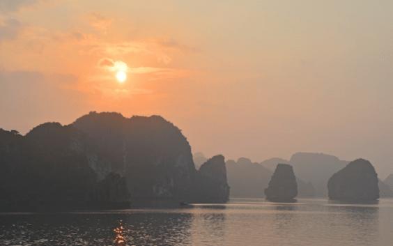 Halong Bay no Vietnã