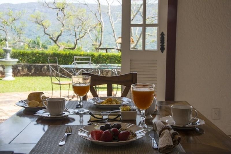 Café da manhã pousada Tiradentes