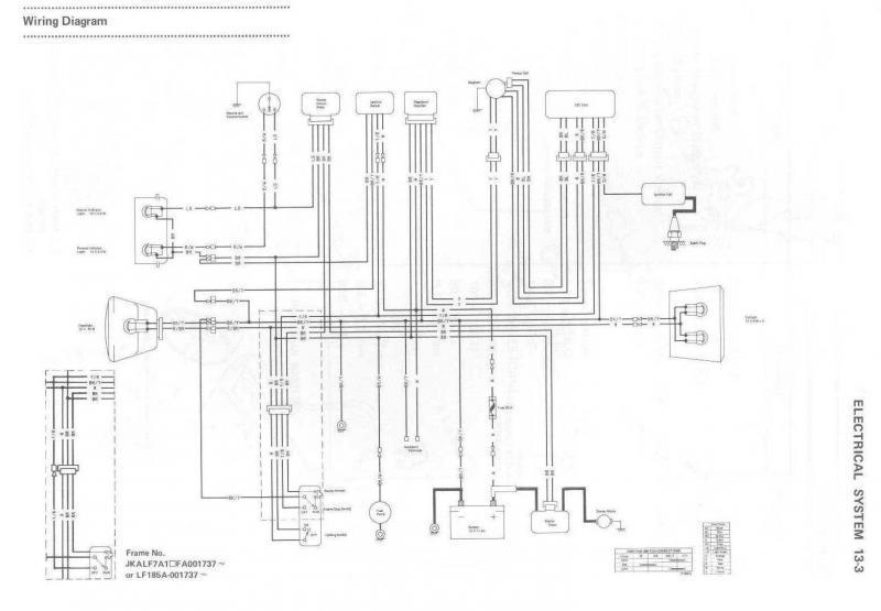 kawasaki klf 185 wiring diagram