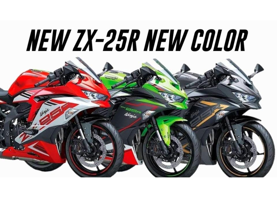 Ready Stock Kawasaki Ninja ZX25R Bekasi