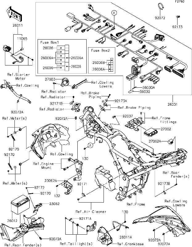 2003 kawasaki bayou 300 wiring diagram