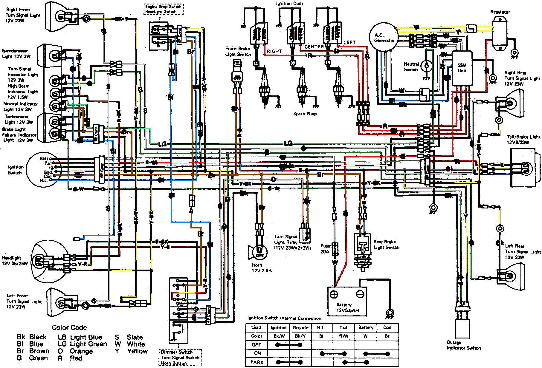 kawasaki wiring diagrams 93 chevy 1500 ecu diagram z1000 zl1000