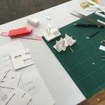 多雪区域の住宅設計-模型製作(住宅模型)