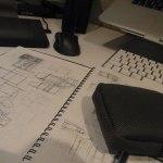 岡山県の家-ラフプラン&模型製作