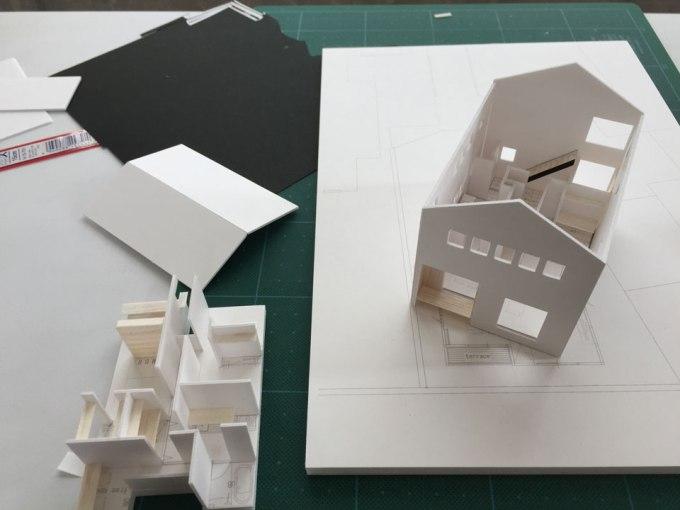 ta-house 住宅設計模型製作