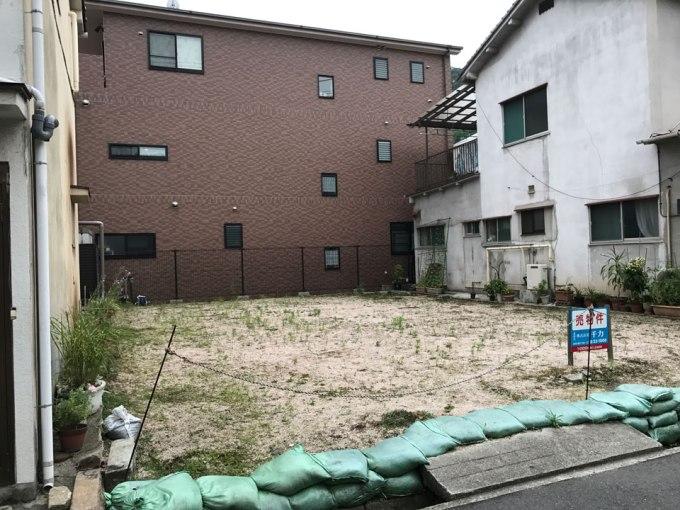 呉の住宅 敷地調査