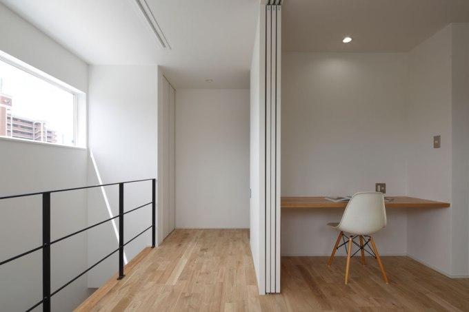 予備室と一体的に使えるフリースペース