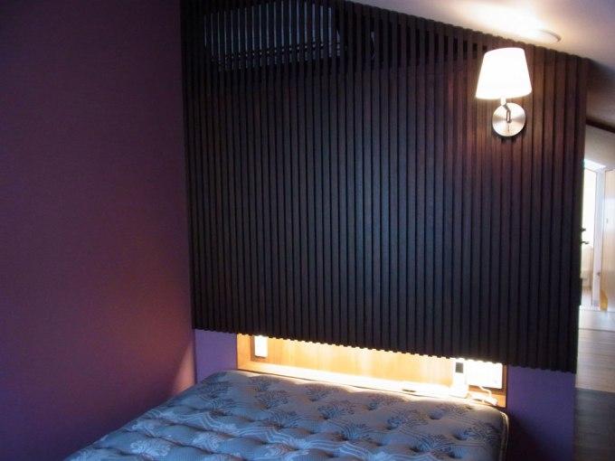 高輪の家 主寝室 ベッドルーム