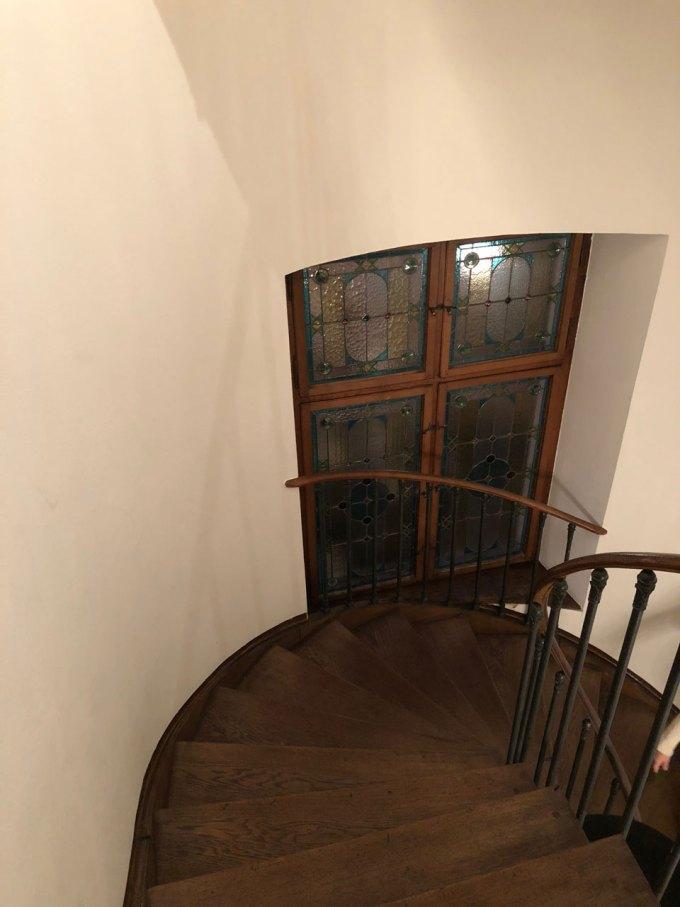 トイフェルホフホテルの螺旋階段