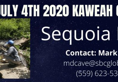 KFFC July 4th, 2020 Kaweah Crawl trout fishing outing