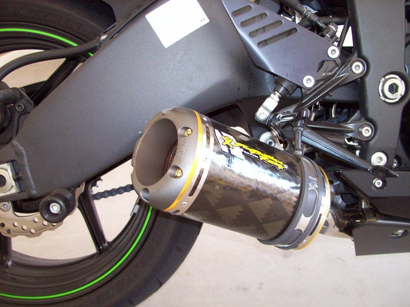 09 zx6r two brothers exhaust