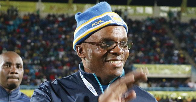 Mogomotsi appointed Botswana national football team head coach #Uganda Mogomotsi Mpote