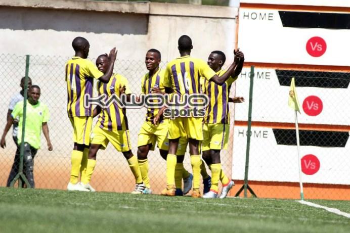Rwenzori group table leaders face relegated entity #Uganda jb proline celbrates vs vipers