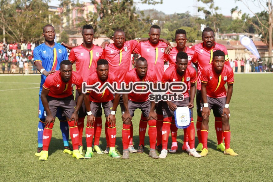 Kampala Select 0-4 Uganda Cranes: Photos from the first Regional Tour of the year #Uganda jb uganda cranes line up vs kampala select