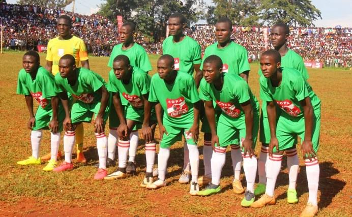 Tear Gas, Gun-shots mar Jinja SS' slim win over 10 man Standard High Zana #Uganda JINJA SS XI vs Standard