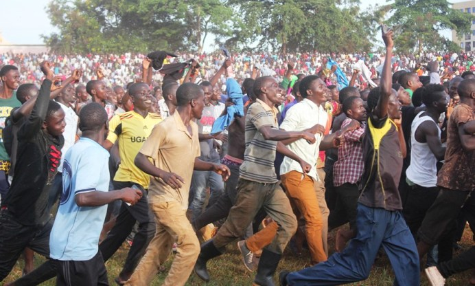 Excitement as Jinja SS eject resilient Bulo Parents to qualify for Copa 2019 semifinals #Uganda Jinja SS fans 2