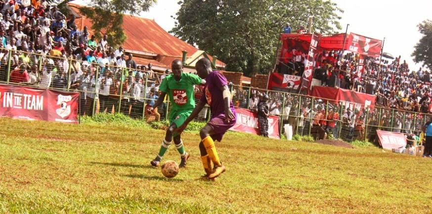 Loki strikes twice to inspire Buddo over JIPRA in first Copa 2019 quarter final duel #Uganda Joseph Kafumbe clears the line