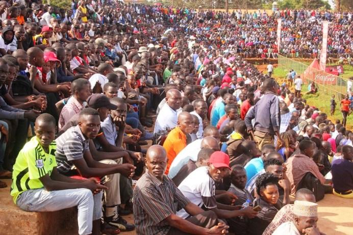 Jinja community wholesomely embraces the enticing copa 2019 football championship #Uganda Kakindu Southern wing