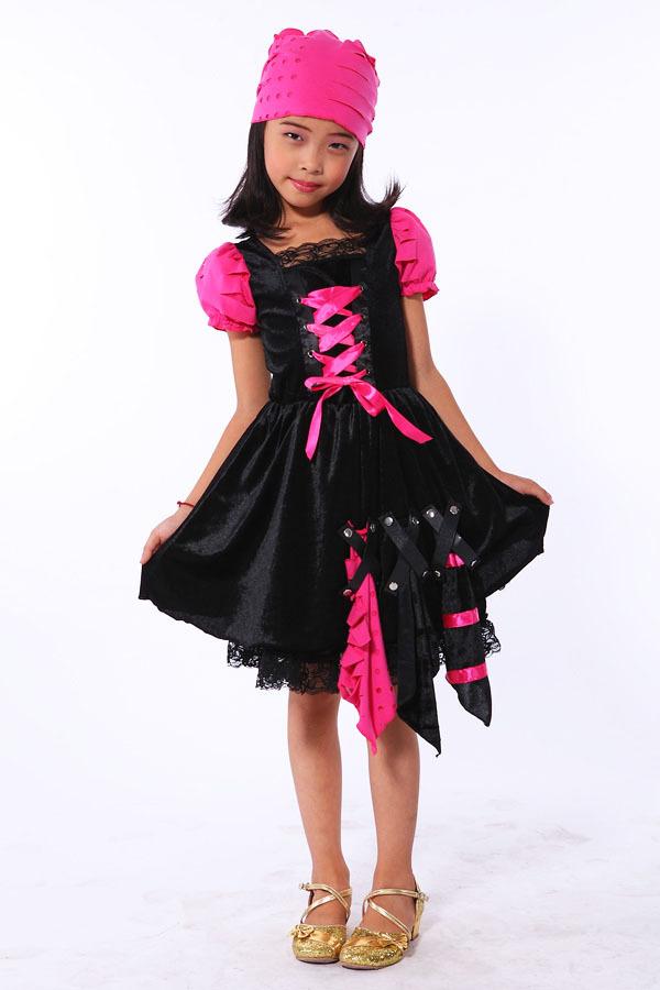 萬圣節小女孩服裝_萬圣節裝扮_萬圣節服裝圖片_恐怖萬圣節服裝