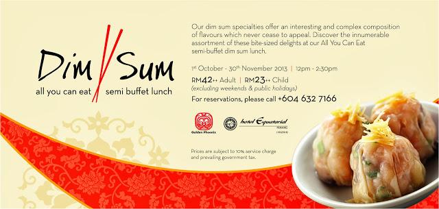 All-You-Can You Eat Semi Buffet Dim Sum Lunch @ Golden Phoenix Equatorial Hotel Penang (1)