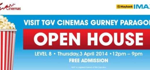 TGV Gurney Paragon Open House 2014