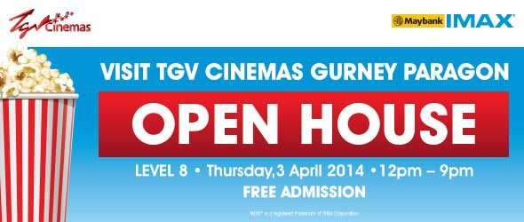 TGV Gurney Paragon Open House 2014