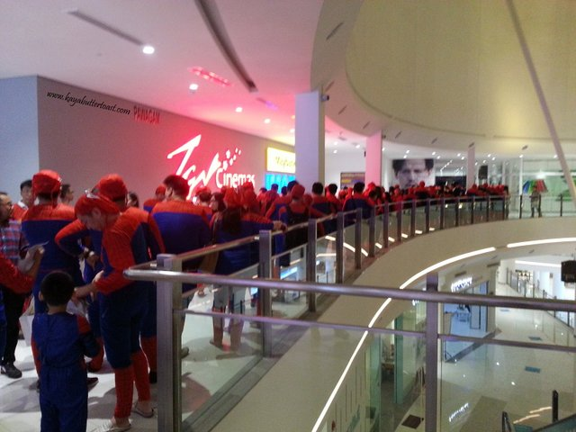 The Launching of TGV Gurney Paragon & Première Screening of The Amazing Spider-Man 2 (16)