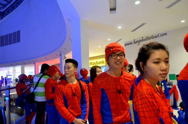 The Launching of TGV Gurney Paragon & Première Screening of The Amazing Spider-Man 2 (17)