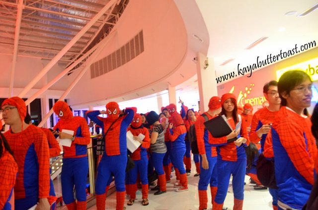 The Launching of TGV Gurney Paragon & Première Screening of The Amazing Spider-Man 2 (18)