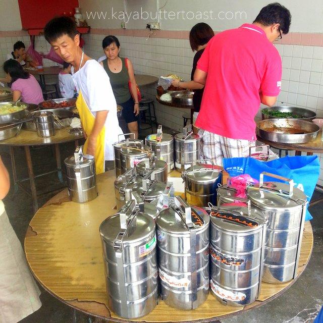 The Famous Economy Rice Sa Kak Eng @ Jalan Air Itam, Air Itam (2)