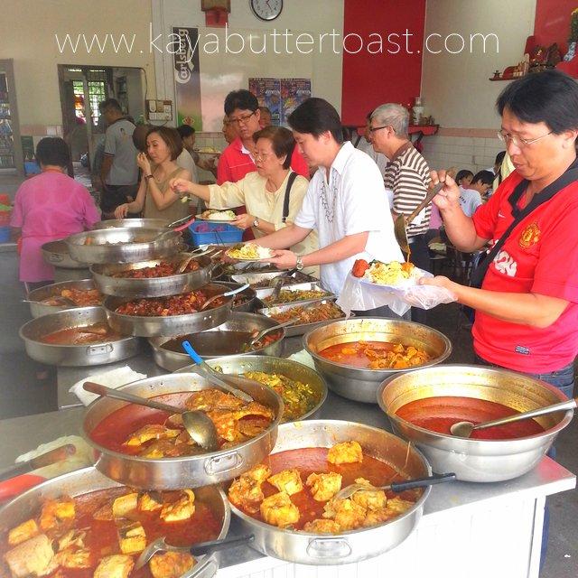 The Famous Economy Rice Sa Kak Eng @ Jalan Air Itam, Air Itam (3)